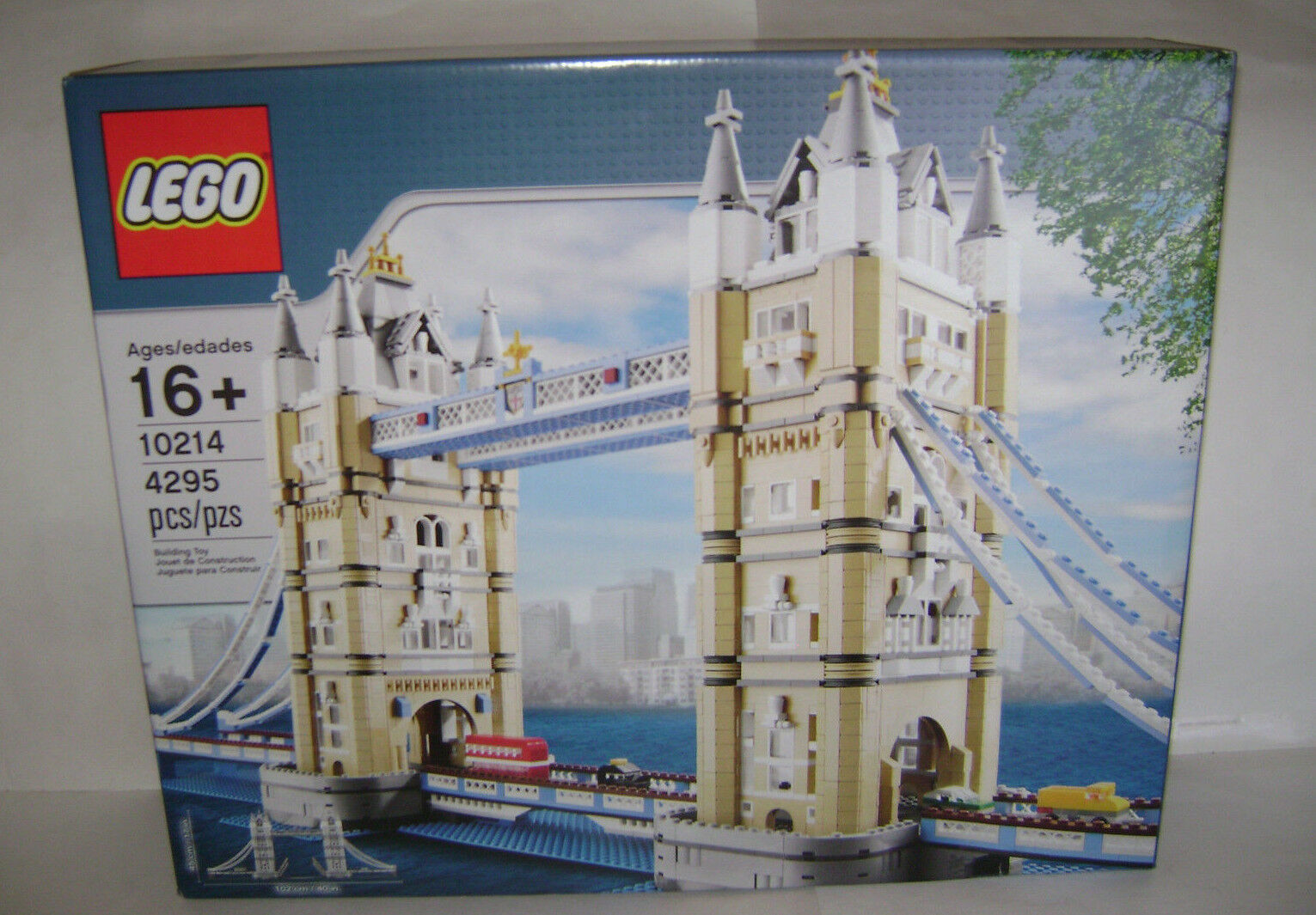 NEW 10214 Lego CREATOR Tower Bridge London Building Toy SEALED BOX RETIrosso A