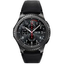 Samsung Galaxy Gear S3 SM-R760 Gear Frontier Smart Watch Black - Brand New