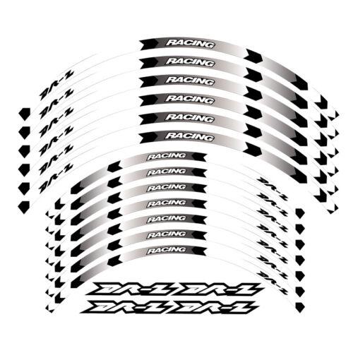 "/""18 /""21 RIM WHEEL STRIPES DECALS TAPE STICKERS FOR SUZUKI DRZ DR-Z 400S 400E"