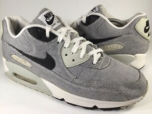 Details about Nike Air Max 90 Premium Picnic White Grey Black Mens Size 12 Rare 700155 100