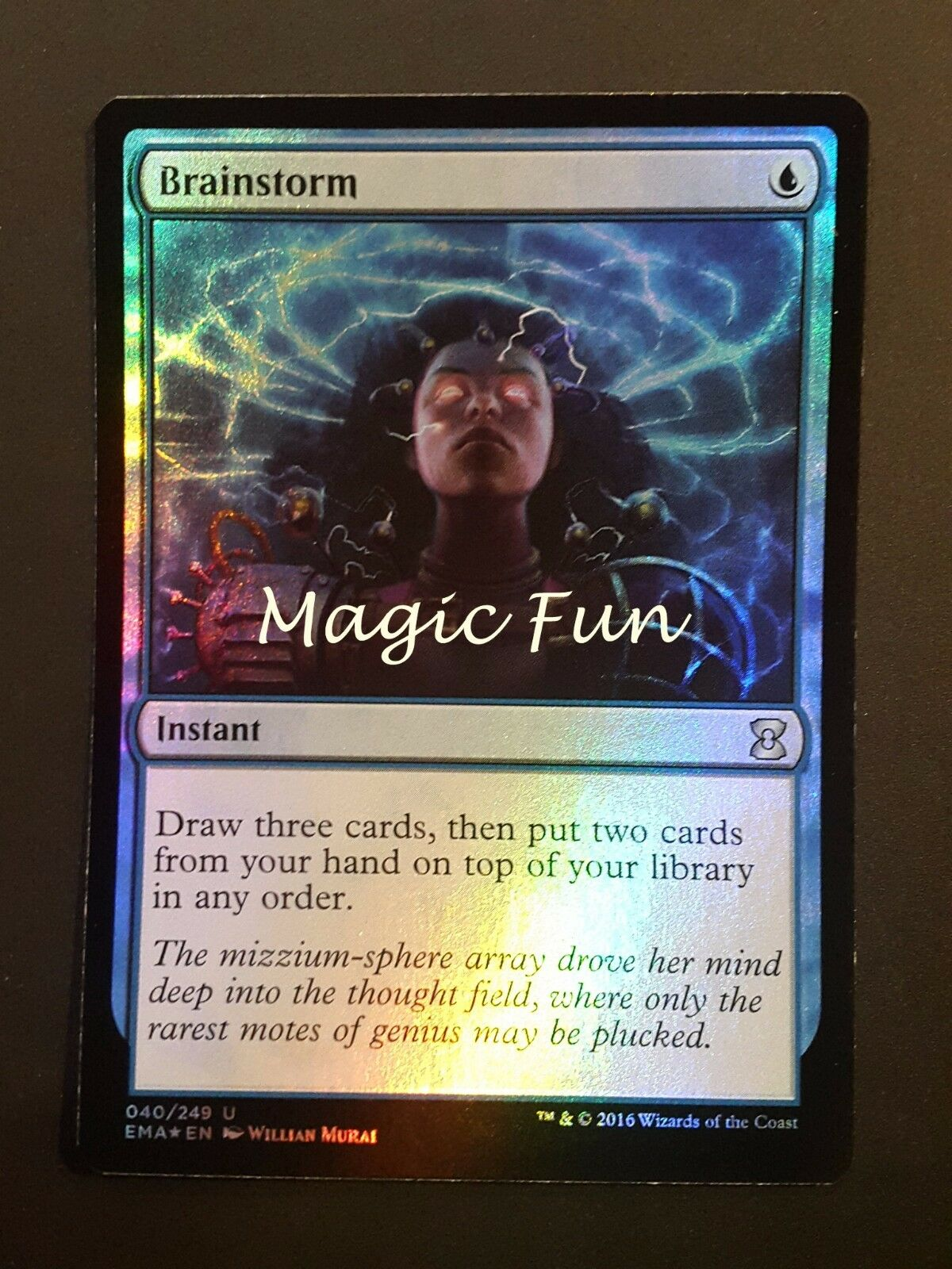 Sturm ZEREBRALE - BRAINSTORM BRAINSTORM BRAINSTORM Folie ENG - MTG MAGIC [magicfun] d471dd