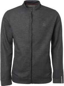 zu Jacke jacquard Full Sweater zip cardigan pockets No Herren Excess Details PZiTuOkX