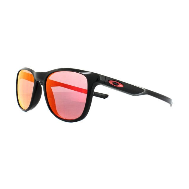 Oakley Sunglasses Trillbe X OO9340-02 Polished Black Ruby Iridium