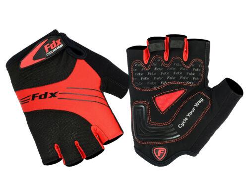 FDX cyclisme gants mitaines demi doigt gants vélo mitaines gants