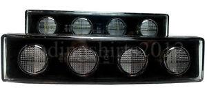 2x-24V-MARKER-LIGHT-LAMP-WHITE-FRONT-CLEAR-LED-VISOR-DRL-CAB-SCANIA-TRUCK-NEW