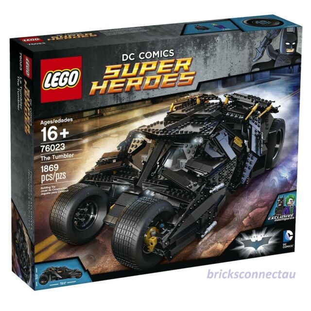 Lego 76023 DC Super Heroes The Tumbler Batman - Brand New - Free Gifts Offer!