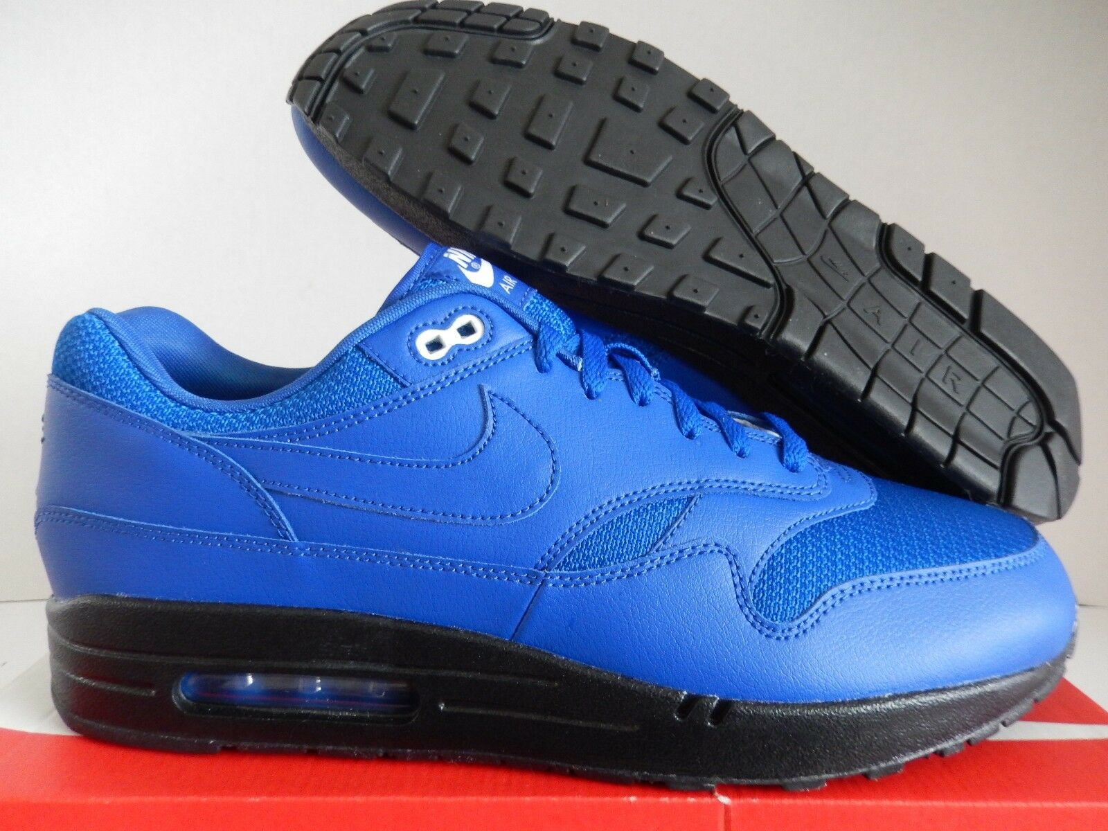 NIKE AIR MAX 1 ID HYPER BLUE-BLACK Price reduction best-selling model of the brand