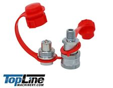 Tl80 14 Npt 10000 Psi High Pressure Replaces Enerpac Hydraulic Couplers Set