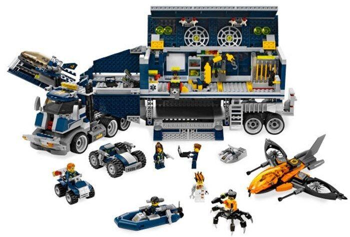 Lego 8635-agentes-Centro de comando móvil - 2008-Sin Caja