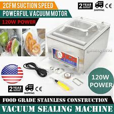 Commercial Automatic Vacuum Sealer 2cfm Vacuum Sealing Packing Machine Dz 260c