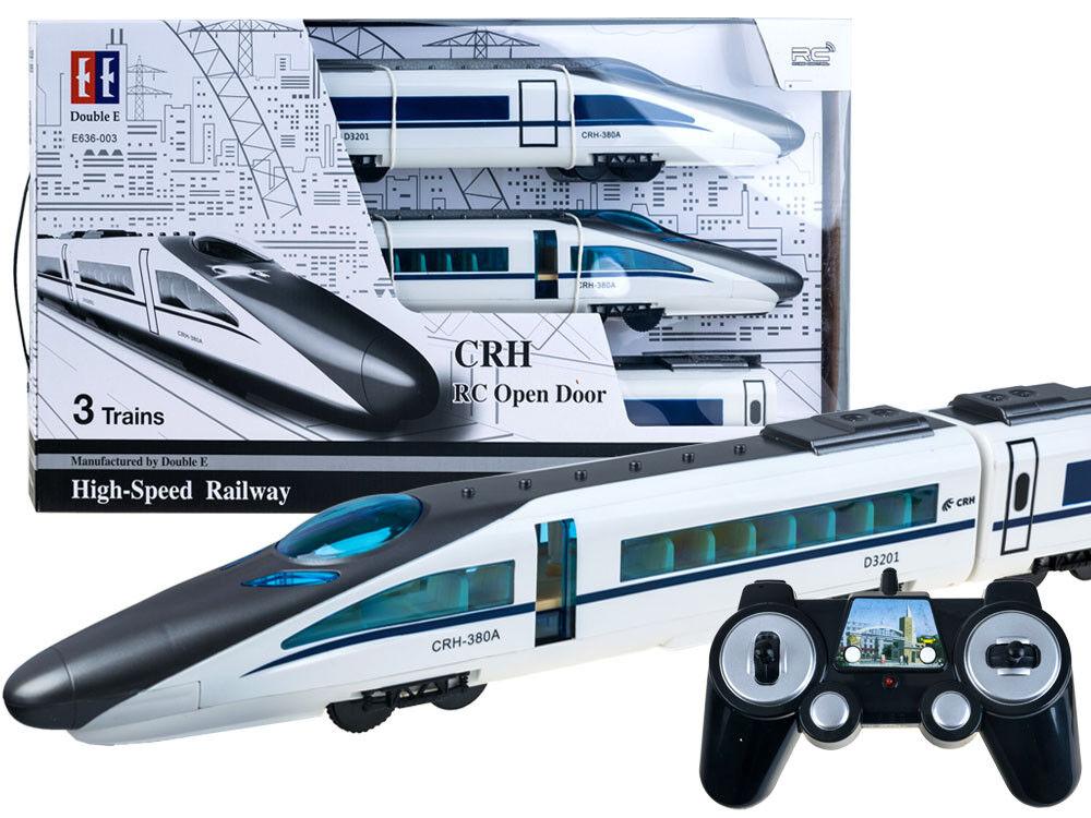 Tren rápido en el control remoto-abrir la puerta se ejecuta sin rieles  longitud 115 Cm
