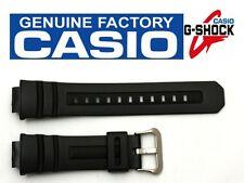 CASIO G-Shock AWG-100 16mm Original Black Rubber Watch BAND AWG-101 AWG-M100