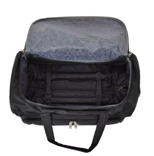 Holdall with Wheels Lightweight Duffle Overnight Weekend Trolley Bag HL452