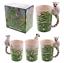 thumbnail 40 - Animal Shaped Handle Ceramic Mug Tea Coffee Cup Novelty Gift Jungle Tropical