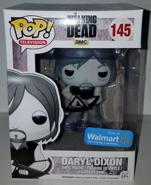 408a5da7b6b Funko Pop! The Walking Dead Daryl Dixon 145 B W Black   White Walmart  Exclusive