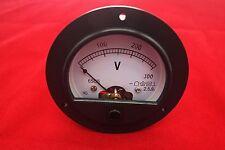 Dc 0 300v Analog Voltmeter Voltage Panel Meter Dia 90mm Direct Connect