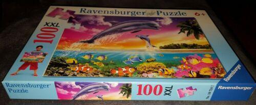 Springender Delfin Ravensburger 10724 100 Teile XXL Puzzle