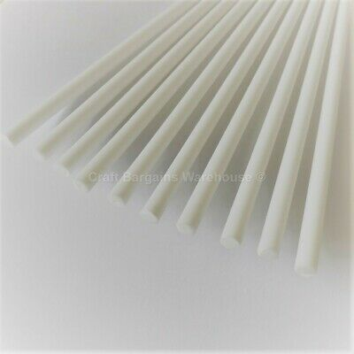 """12/"""" Inch x 10 CAKE DOWELS DOWELLING Rods Support Tiered Cakes Sugarcraft Sticks"""