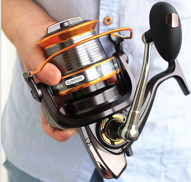 13BB Lj9000 4.1 1 Right and Left Hand Spinning Fishing Reel Sea Fishing Reels