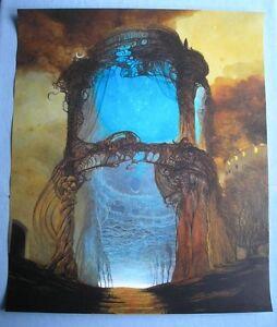 Zdzislaw Beksinski Poster Plakat 60x71cm Big Art Poster 236