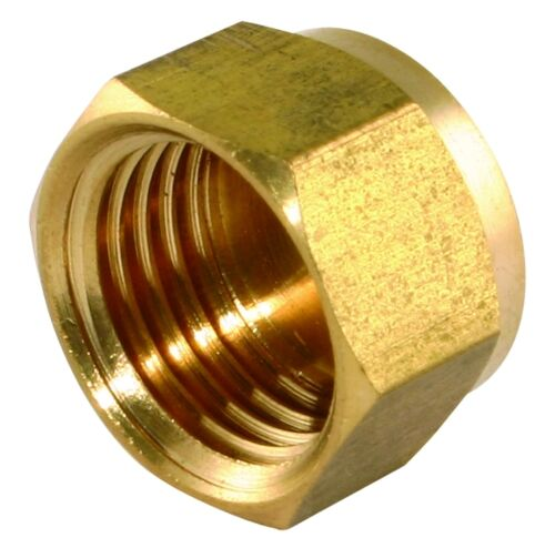 """Brass Blanking End Cap Female Stop End Screw On Many Sizes From 1//8/"""" 2/"""" BSP"""