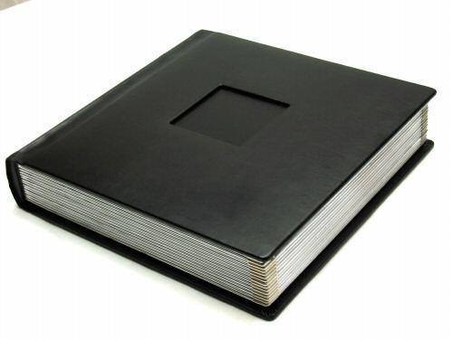 Professional 10x10 Negro Plata álbum de fotos con 50 Esteras (grabado disponible)