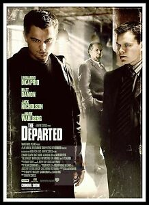 The Departed 7   Poster Greatest Movies Classic & Vintage Films