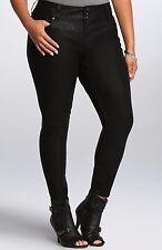 Torrid Premium Faux Leather Jegging Black Size 16  #84802