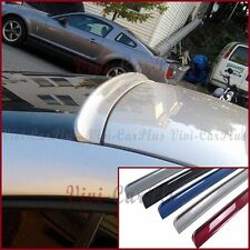 Painted B Type PU Roof Spoiler For 05-10 Pontiac G6 Sedan 4DR Window Add On Tail