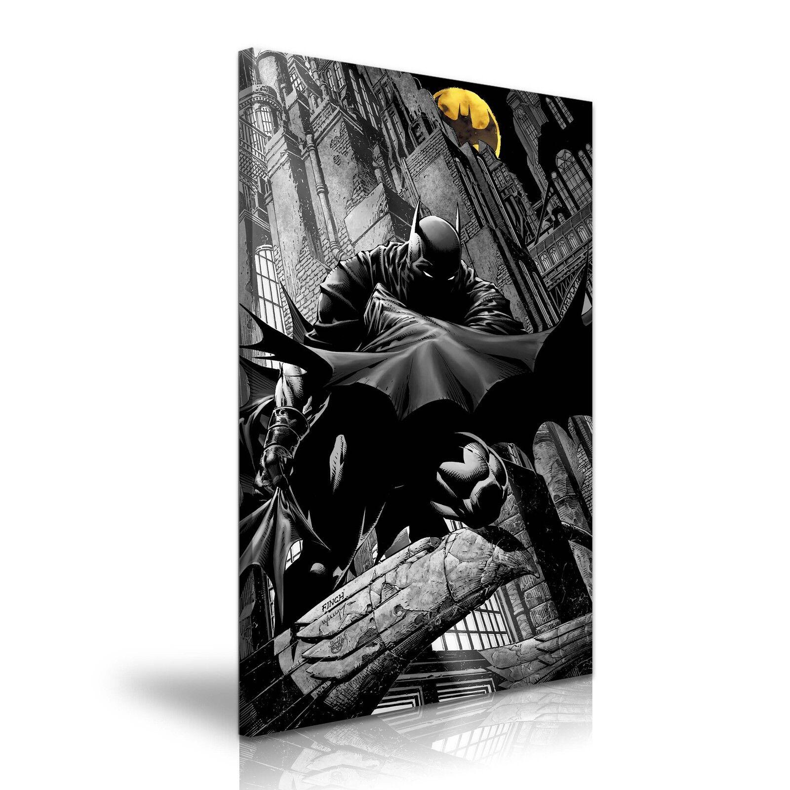 BATMAN COMICS Tela Parete Deco  più dimensioni