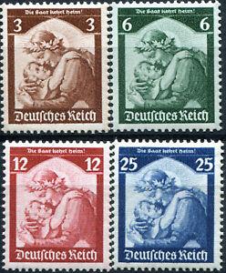 ALLEMAGNE-REICH-N-524-7-NEUFS