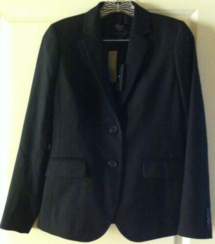Crew Super Black 2 Wool 248 120's 1035 Blazer Nwt 23346 J IxRAdqI