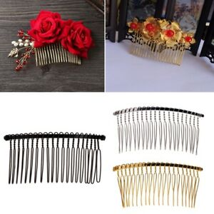 Details about Blank Metal Hair Clips Wedding