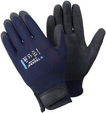1 - 12 Pairs Latex Coated Grip Waterproof Palm Builders Gardening Work Gloves