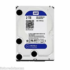 "WD 2TB Desktop Internal Sata Hard Disk Drive 3.5"" Western Digital WD20EZRZ .."