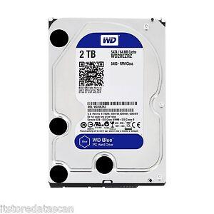 "WD 2TB Desktop Internal Sata Hard Disk Drive 3.5""   Western Digital WD20EZRZ"