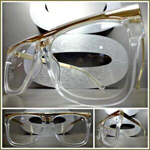 eb5566f09dc Men or Women VINTAGE RETRO Style Clear Lens EYE GLASSES Transparent ...