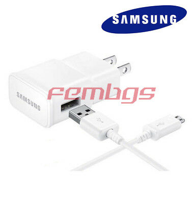 """USB Charger Cable for Samsung Galaxy Tab A 10.1 4 7.0 8.0 S2 9.7/"""" Wall Adapter"""