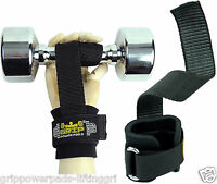 Lifting Straps Neoprene Padded Cotton Coated Rubber One Side Workout Straps