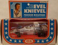 Evel Knievel Stuntman Precision Miniatures Diecast Formula 5000 Racing Car (mib)