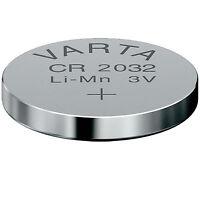 10 STÜCK KNOPFZELLEN - VARTA - BATTERIEN CR2032 CR2025 CR2016  LITHIUM- frisch!!