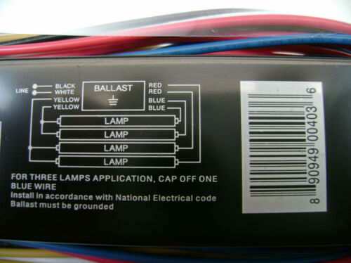 KTEB-432-UV-IS-NP Fluorescent Ballast 4B T8 Replaces Accupro AP-432IP-UNV-M
