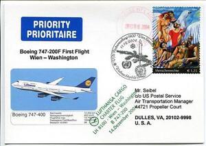 éNergique Ffc 2004 Lufthansa Volo Speciale Onu United Nations Boeing 747-200f Washington Longue DuréE De Vie