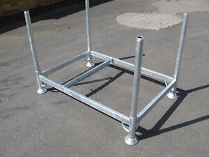 7x-MJ-Geruest-Rohrpaletten-Rohrpalette-Geruestpalette-Paletten-f-Plettac-SL-70