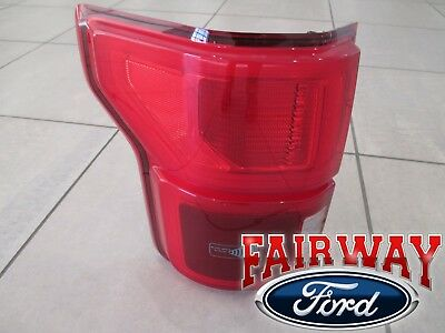 2018 F 150 Oem Ford Led With Blind Spot Tail Lamp Light Left Driver New Ebay