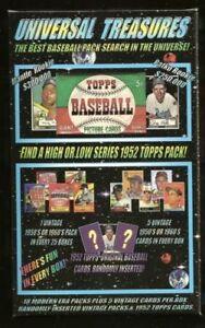 1952-Topps-Mickey-Mantle-Chase-Card-Box-18-packs-5-1950s-or-1960-039-s-cards-per-box