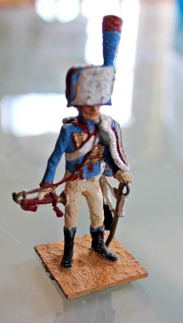 Figurine soldier lead MDM Premier Empire Trumpet Years 50