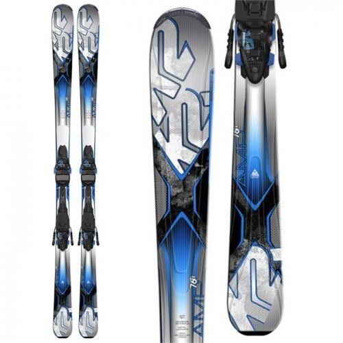 Ski K2 AMP 76 Ti + bind. Marker 10 size - 177 cm  NEW
