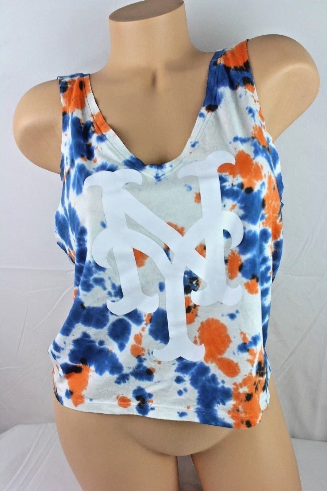 VICTORIA'S SECRET PINK METS TANK TOP EXCLUSIVE MLB COLLECTION SMALL NEW H188