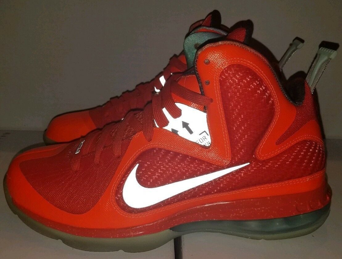 Size 8.5 Nike Lebron IX 9 AS Galaxy All-star Big Bang orange Grey 520811-800